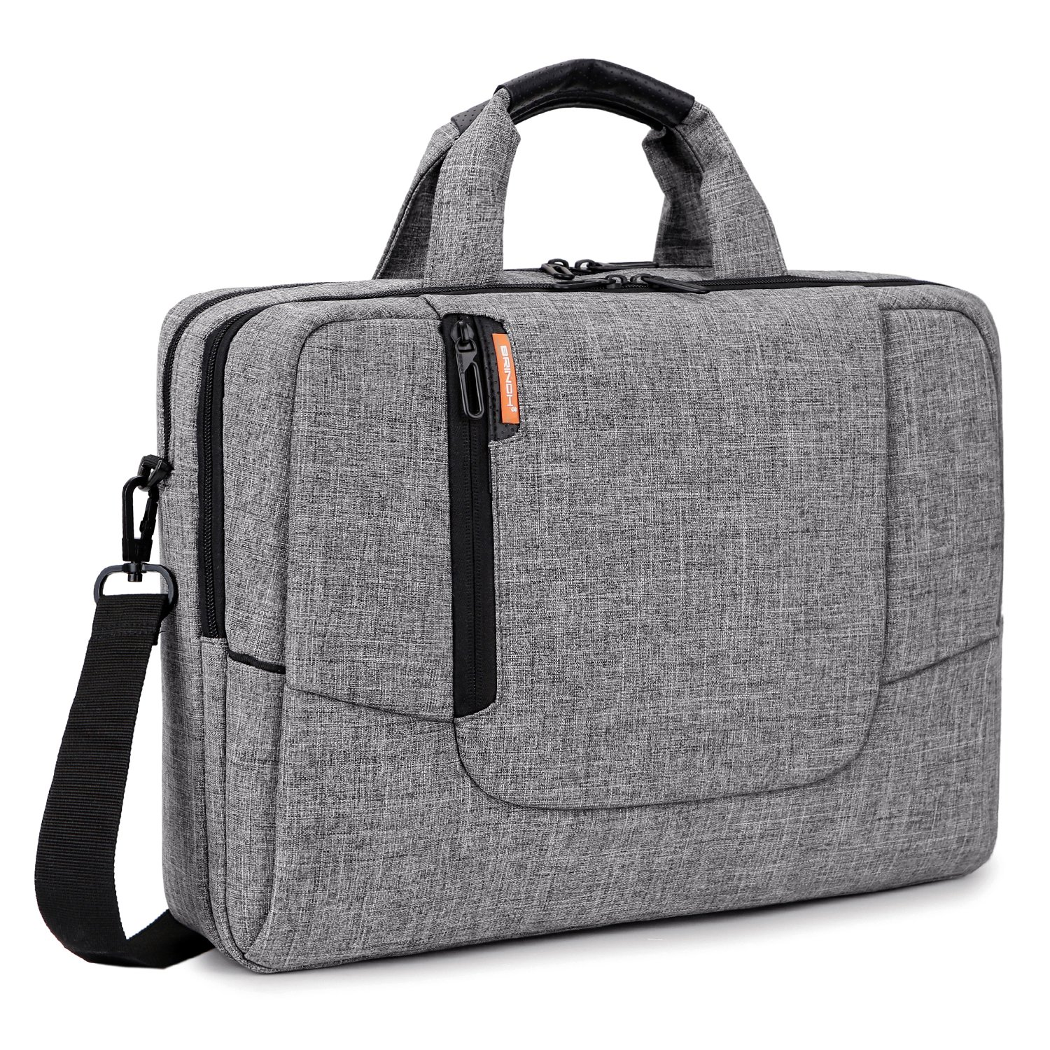BRINCH 15.6 inch New Fashion Laptop Computer Case Cover Sleeve Shoulder Strap Bag