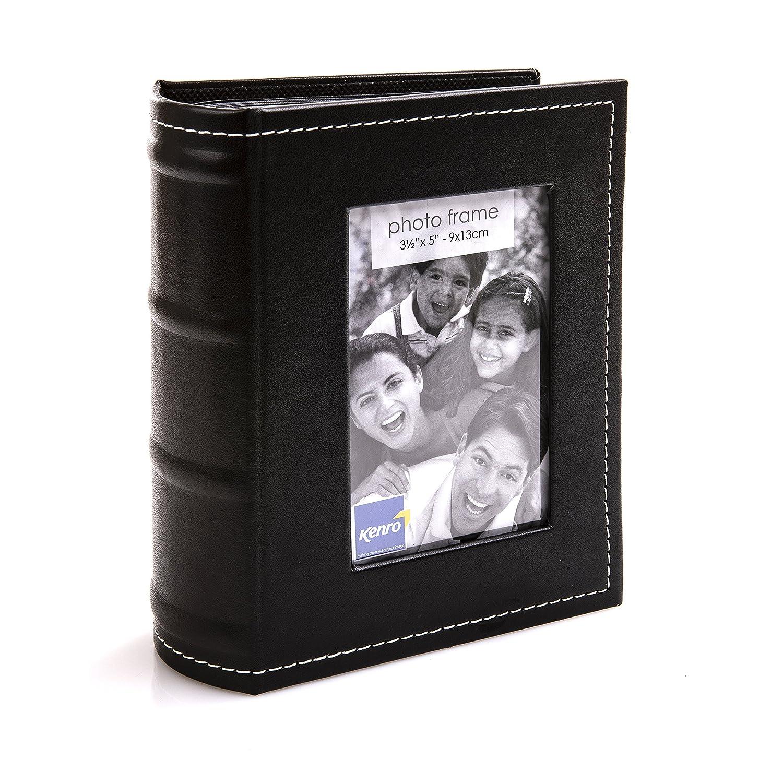 Kenro Black Minimax Photo Album 80 5x7.5'' Black (Pack 1) [PKB109]