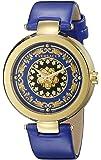 Versace Women's VQR020015 Mystique Foulard 38mm Analog Display Swiss Quartz Blue Watch