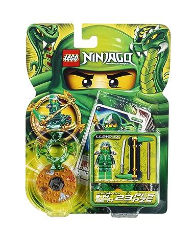 LEGO Ninjago Lloyd ZX [Model 9574 - 23 PCS]: Amazon.co.uk: Toys ...