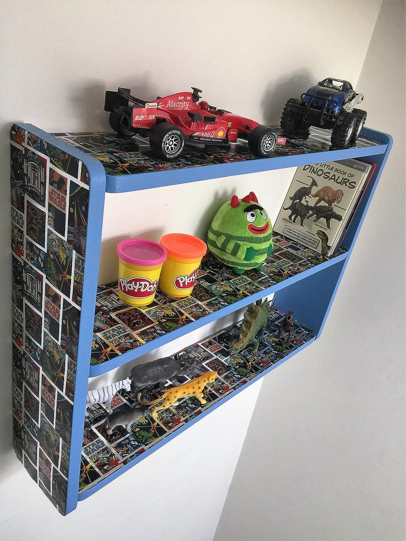 Woodiquechic 60 Cm Kinder Regalen, Kinder Gelb Minions Schlafzimmer  Ablagen, Regal, Bücherregal, Spielzeug Aufbewahrung, DVD Rack.