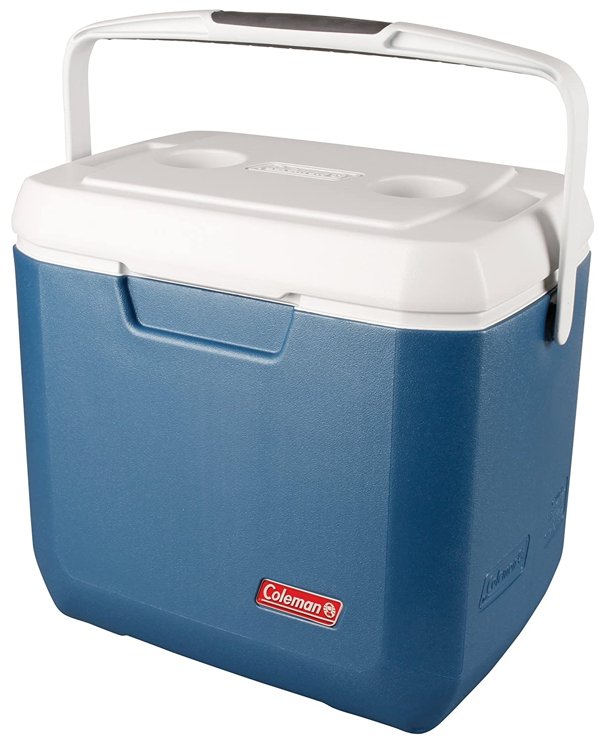 Coleman Cool Box Xtreme 28QT, small high performance cooler box, keeps ice for 3 days, Ice box for drinks, picknicks and Camping, cool box capacity 26 Liters, use with ice packs 3000004949