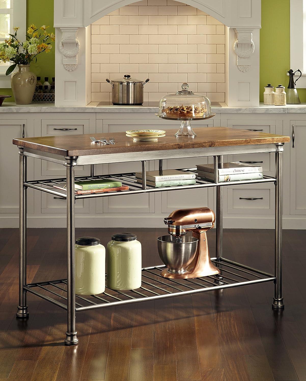 amazon com home styles the orleans kitchen island kitchen u0026 dining