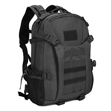 3793d86847 Tactical Military Backpack 35L Army Assault Pack Waterproof College School Rucksack  Sports Travel Hiking Camping Trekking