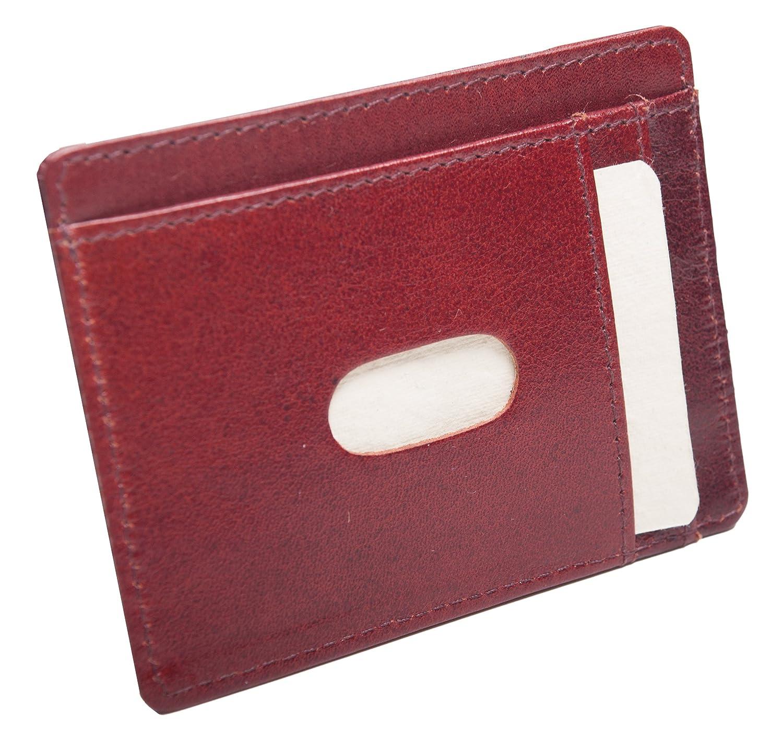 Ausweisetui, Ausweishülle,Kreditkartenetui, Ausweismappe, aus LEDER (Braun) Ausweishülle 222111