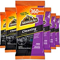 360 Count Armor All Car Interior Cleaner Wipes for Dirt & Dust Deals