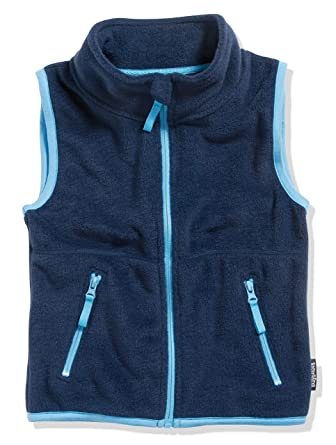 2cafc0a991 Playshoes Unisex Fleece-Weste Farbig Abgesetzt: Amazon.de: Bekleidung