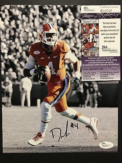 4a3651d4869 Autographed Signed Deshaun Watson Clemson Tigers 8x10 Football Photo JSA COA