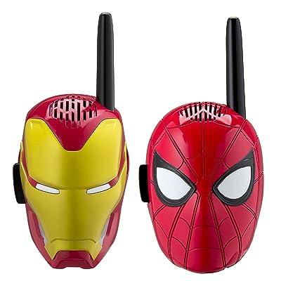 Avengers Infinity War Walkie Talkies for Kids Static Free Extended Range Kid Friendly Easy to Use 2 Way Walkie Talkies - AV-202v8M: Toys & Games