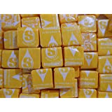 Lemon Starburst Chewy Yellow Starburst Candy 2lbs