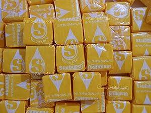 Lemon Starburst Chewy Yellow Starburst Candy 2lbs by CandyMafia