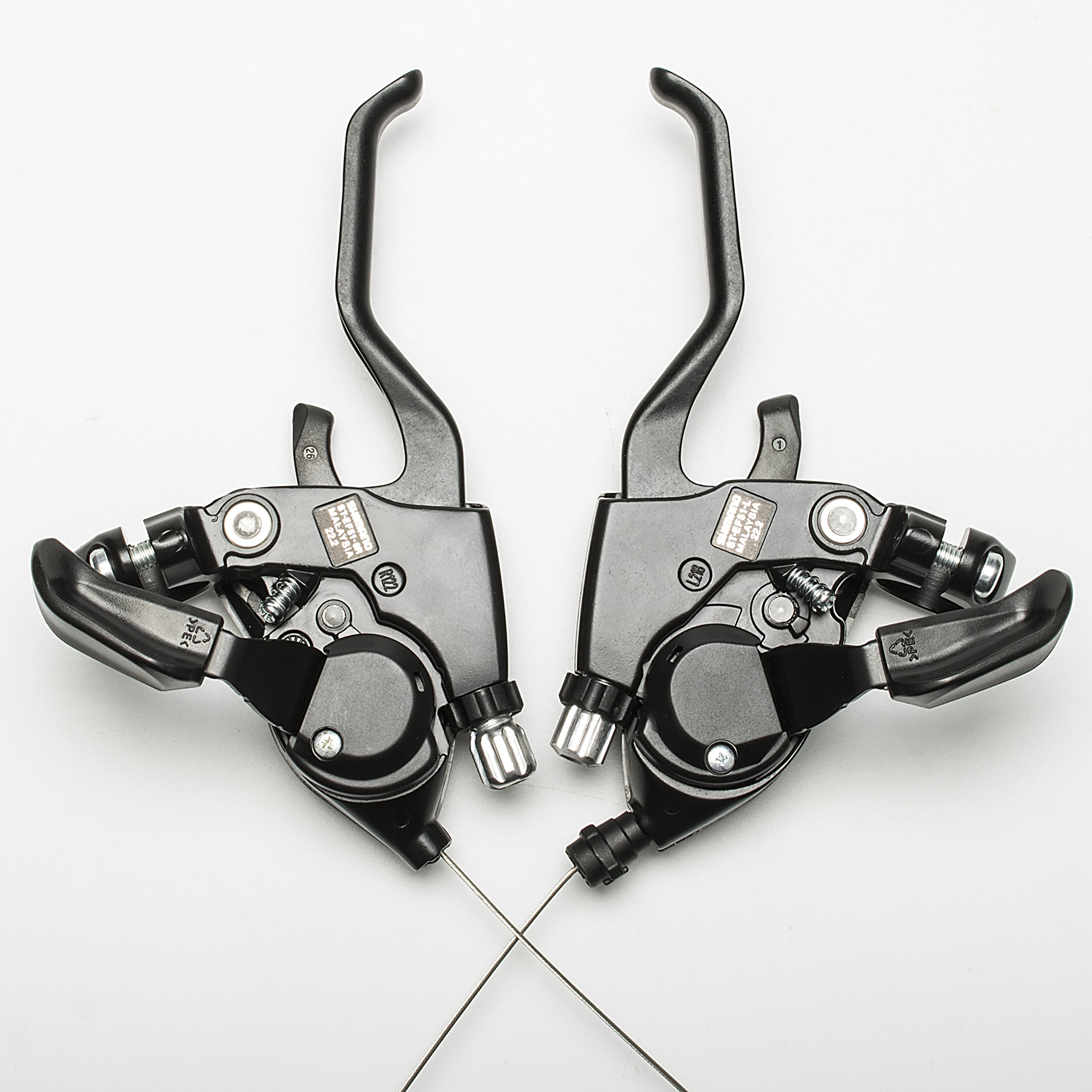 Shimano ST-EF51 3x8 Speed Shifter Brake Lever Combo With Shift Cable by Top-bike (Image #3)