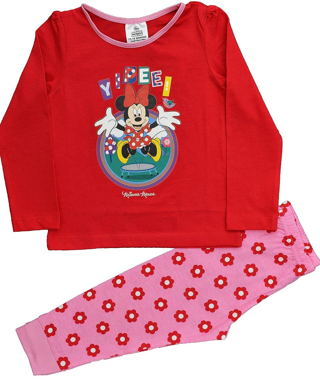Disney - Pijama - para niña Rojo rosso 2 años: Amazon.es: Ropa y accesorios