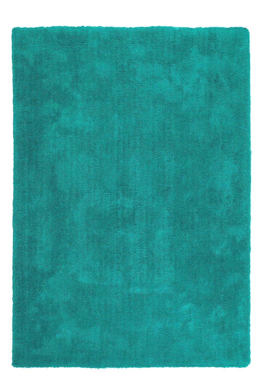 Sona-Lux Teppich Handgetuftet Weiches Micro Polyester Polyester Polyester Weiche Haptik Baumwollrücken Aqua Grün Größe Wählen 120 x 170 cm 650613