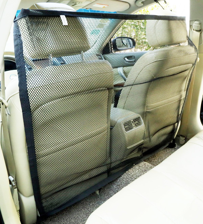 Zone Tech Vehicle Car Travel Pet Dog Car Back Seat Net Mesh Barrier