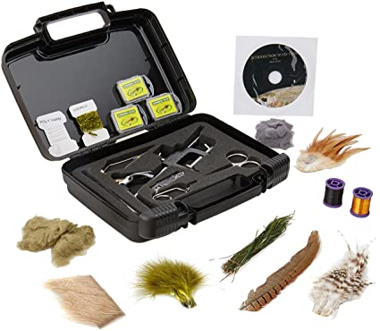 5dbbf204c Amazon.com   Scientific Anglers Deluxe Fly Tying Kit   Sports   Outdoors