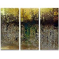 Paul Sinus Art - Stampa Artistica su Tela con Motivo a Mosaico Astratto, pronta da Appendere