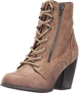 Dolce by Mojo Moxy Womens Dusty Ankle Bootie Taupe Size 75