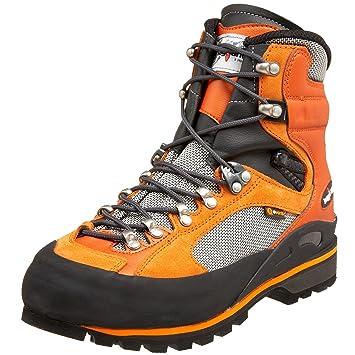 7bf6552af4 Amazon.com | Kayland Men's Apex Rock Mountaineering Boot, Orange, 8 ...