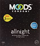Moods All Night 20's Condoms ( free 4 condoms )