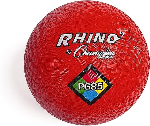 Amazon.com: Champion Sports Playground Ball (Red, 8.5-Inch)