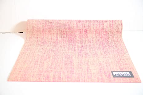 Amazon.com : Power Systems Natural Jute Yoga Mat, 68 x 24 ...