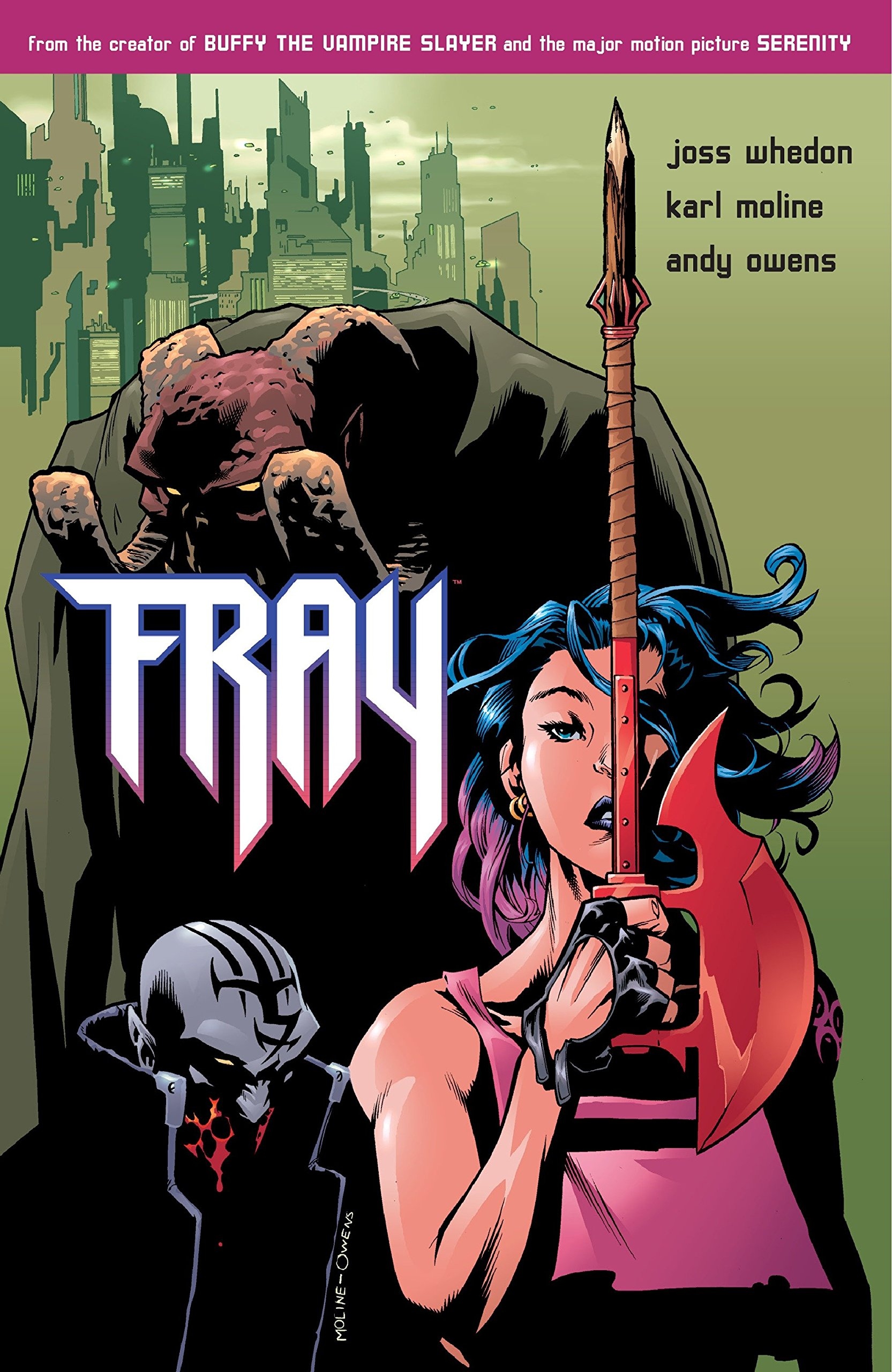Image result for fray by joss whedon