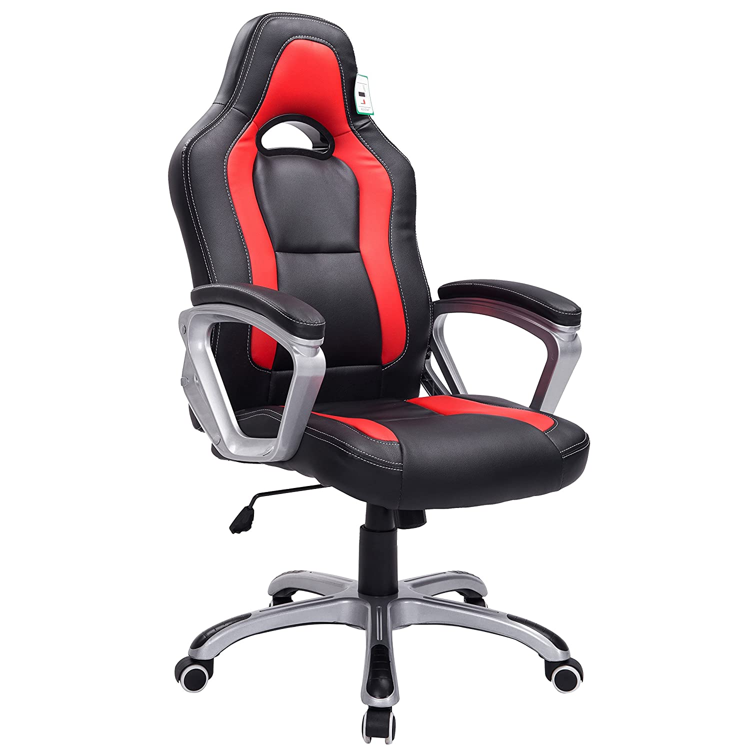 Brand New Designed Racing Sport Swivel Office Chair In Black Red