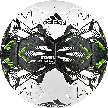 adidas Stabil Team 9 Balón de Balonmano, Unisex Adulto, Blanco ...