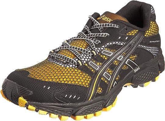 Asics Gel-Trail-Attack 6, Zapatillas de Correr en montaña para Hombre, Orange/Black, 42.5 EU: Amazon.es: Zapatos y complementos