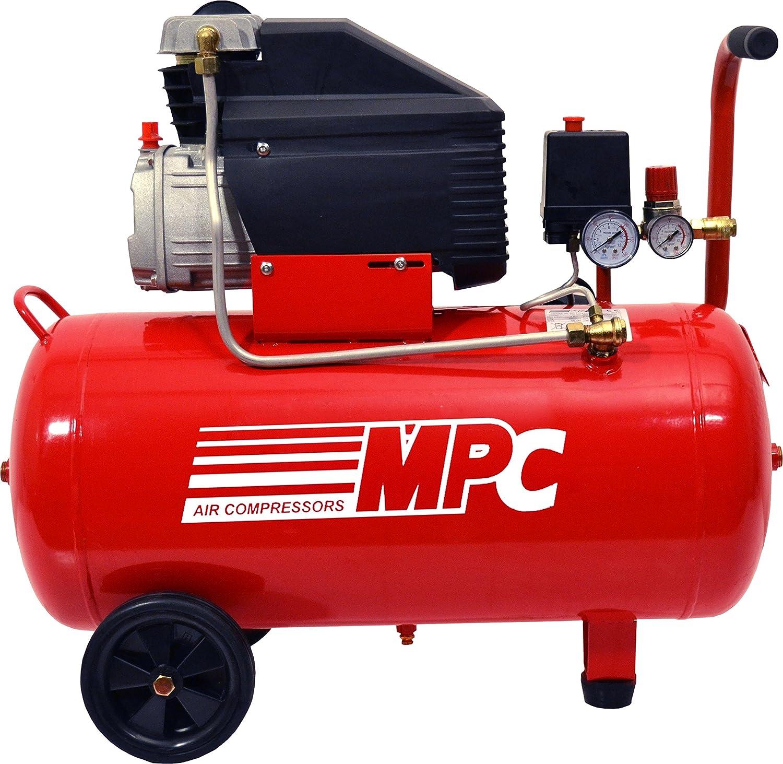Compresor de aire 230v 2 cv 50 litros MPC CD-250: Amazon.es: Bricolaje y herramientas