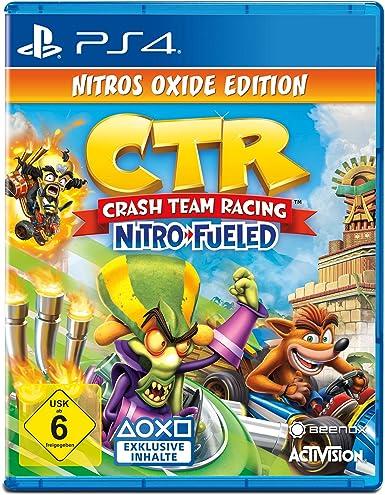 Crash Team Racing Nitro Fueled - Nitros Oxide Edition ...
