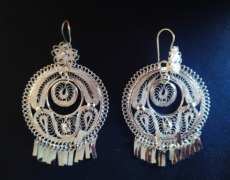 silver earrings Mexican zapotec Filigree Oaxaca earrings Pearl Frida Kahlo 925 silver original pearl Aretes redondos artesanales
