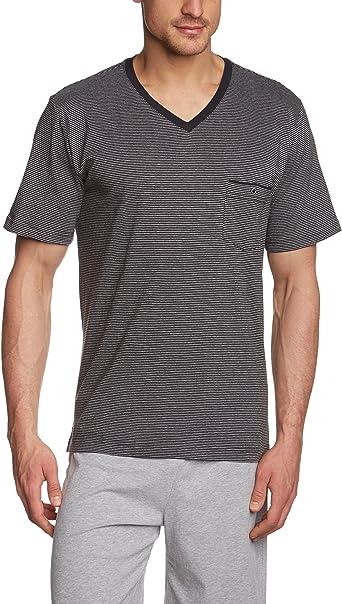 Marc OPolo Body & Beach Shirt V-Neck Camiseta, Schwarz ...