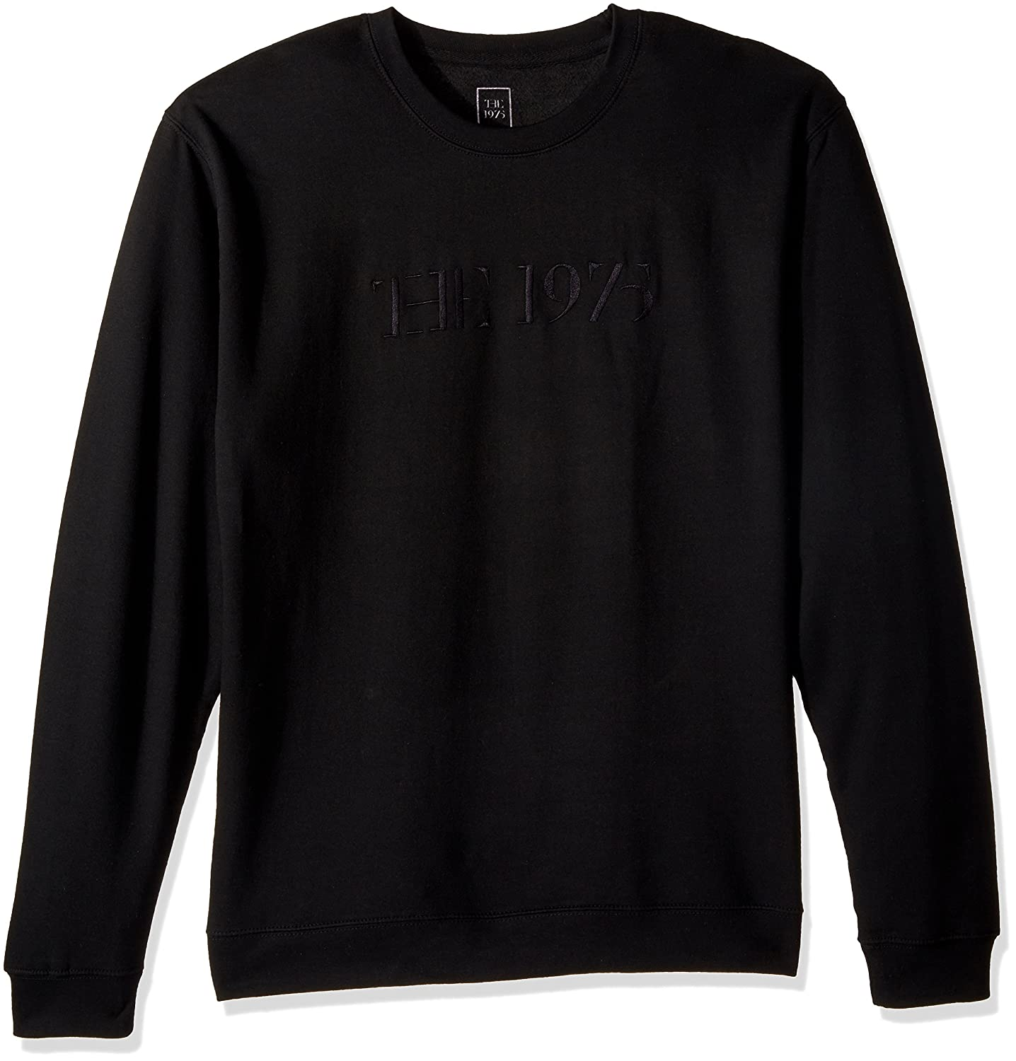 The 1975 Mens Embroidered Crew Interscope Records
