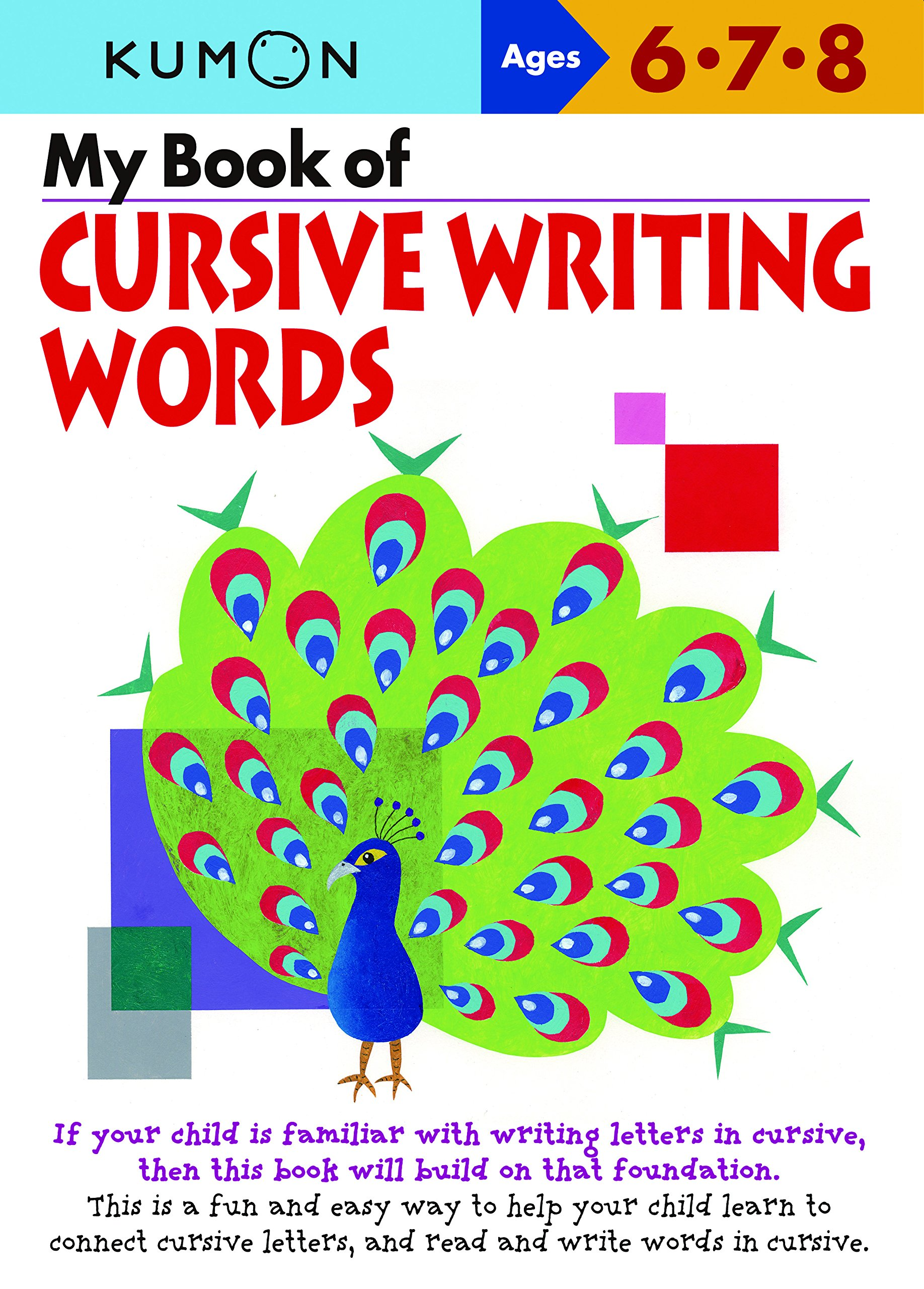 Download My Book of Cursive Writing: Words (Cursive Writing Workbooks) PDF