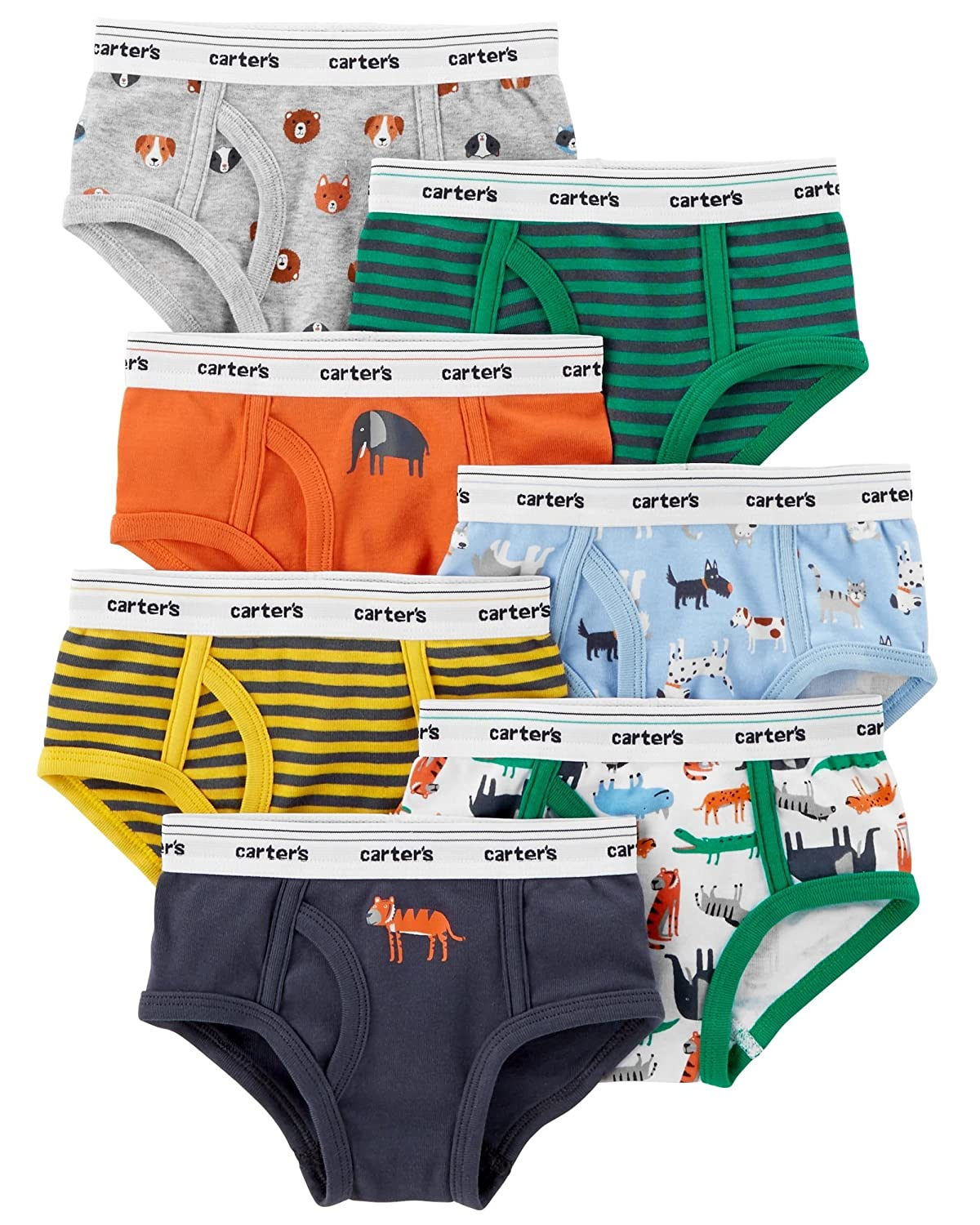 Carter's Little Boys' 7-pack Cotton Briefs (Toddler/Kid) Carters D31G139