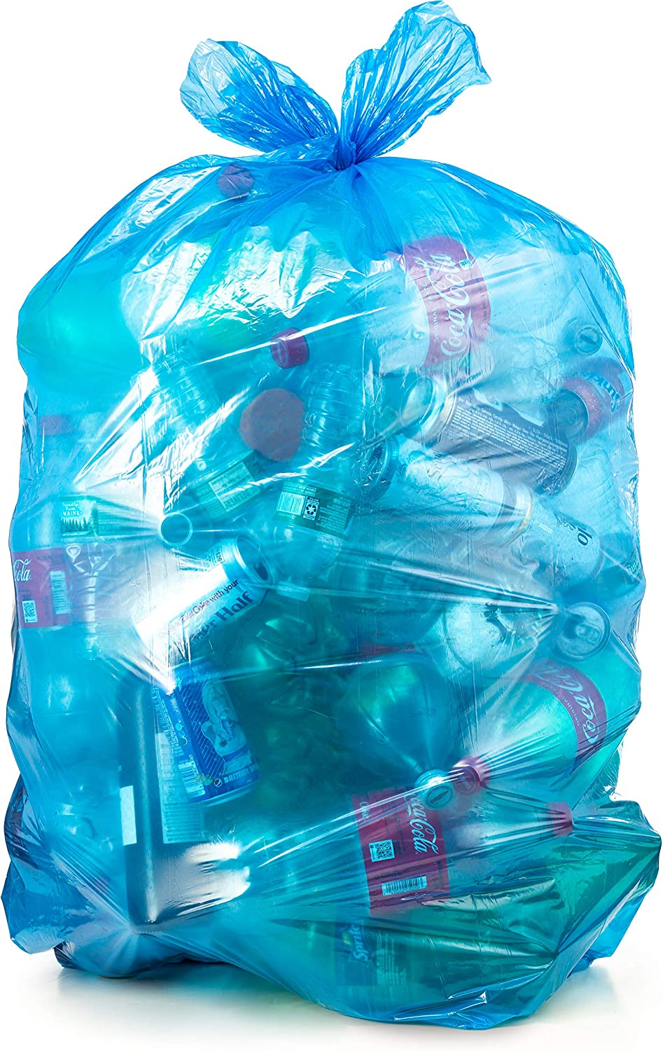 Recycling Trash Bags, 33 Gallon, (100 case w/Ties) 33