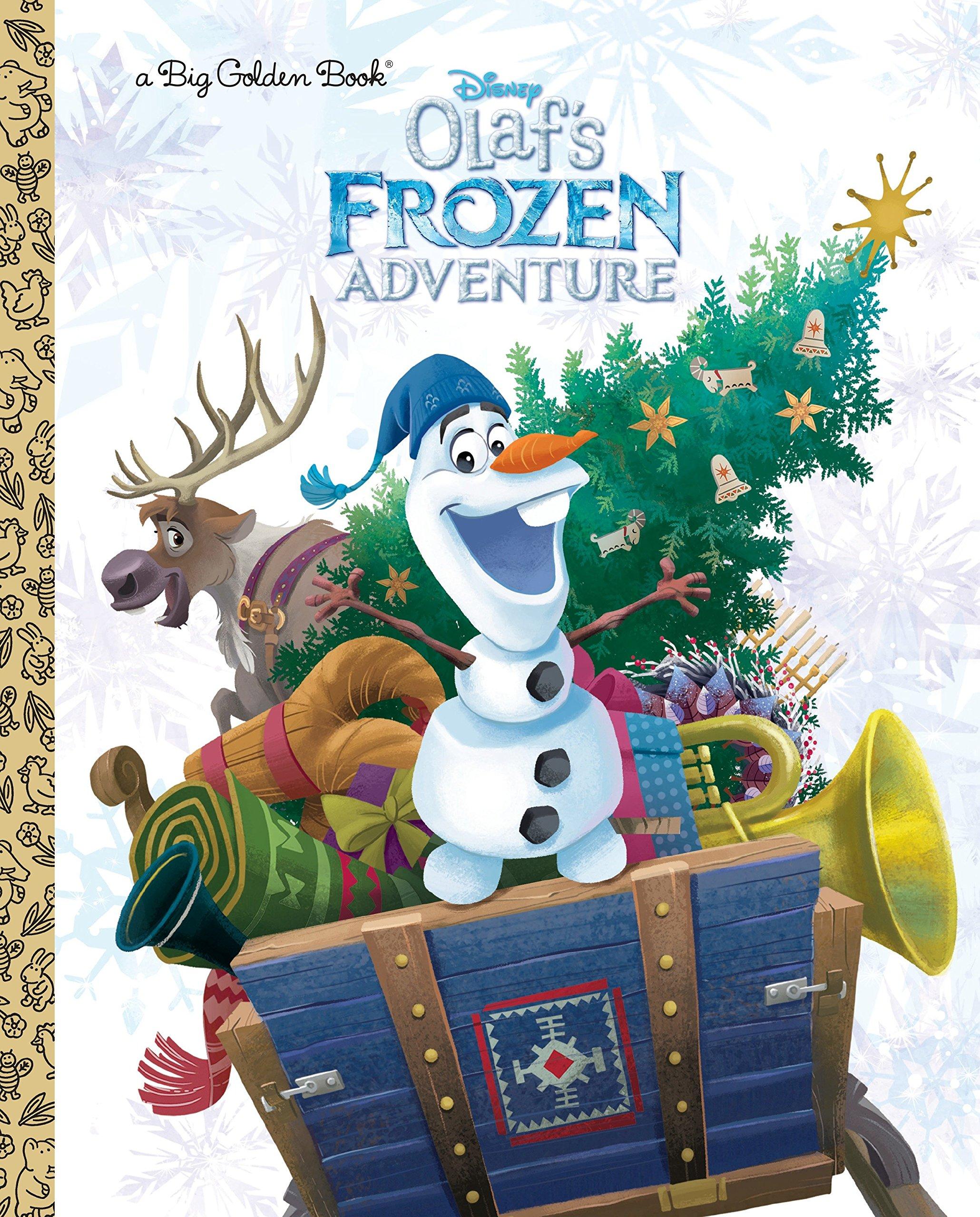 Olaf\'s Frozen Adventure Big Golden Book (Disney Frozen): Amazon.co ...