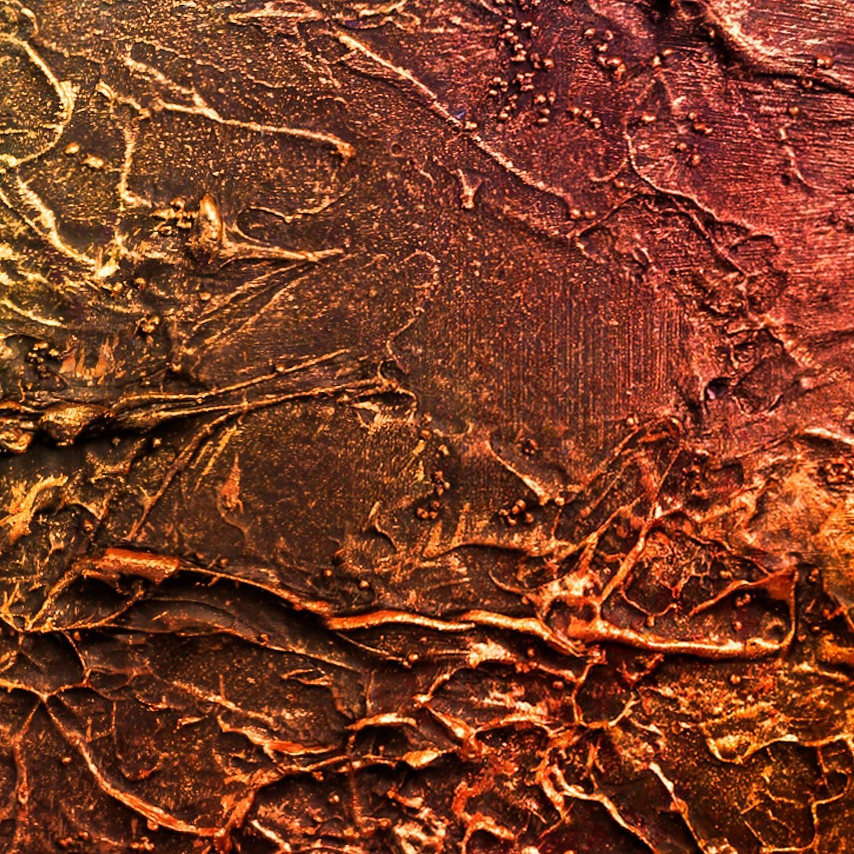 decomonkey Fototapete Steinwand Stein 400x280 cm XL Tapete Fototapeten Vlies Tapeten Vliestapete Wandtapete moderne Wandbild Wand Schlafzimmer Wohnzimmer Mauer Beton Textur t/ürkis gr/ün gold