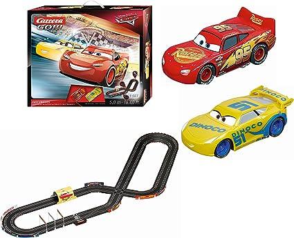 Carrera 62419 Go Disney Pixar Cars 3 Fast Friends Logement Voiture De Course Ensemble De Amazon Ca Jeux Et Jouets