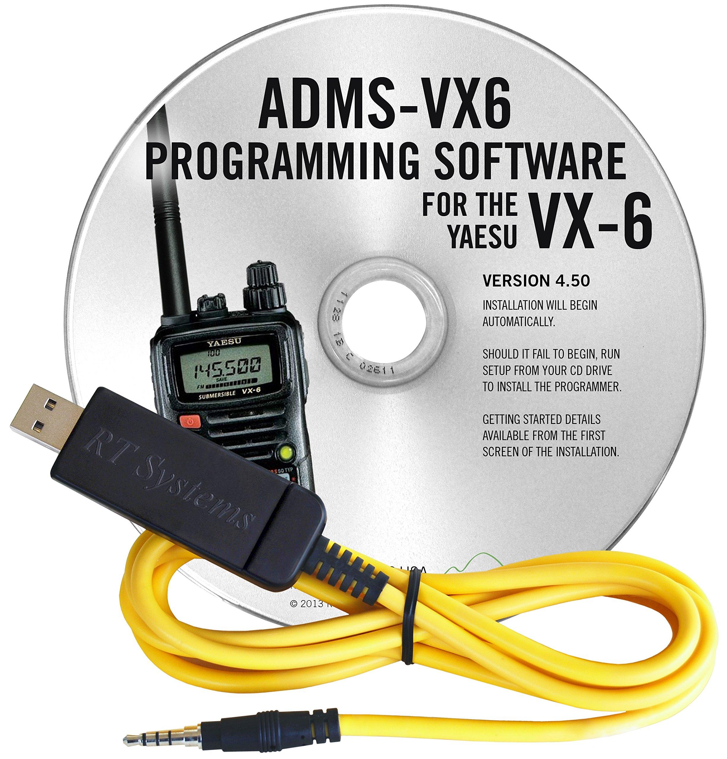 Yaesu VX-6R USB PC Cable & Programming Software