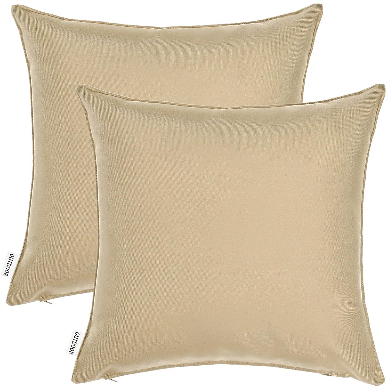 Amazon Com 2 Piece 12 X 18 Outdoor Patio Furniture Lumbar Pillow