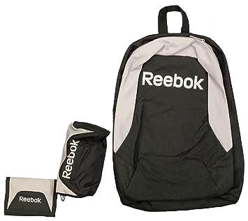 Reebok Back To School Juego de mochila, estuche y cartera: Amazon.es: Deportes y aire libre