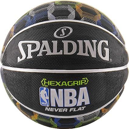Amazon.com: Spalding NBA Hexagrip Neverflat 29.5