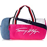 Tommy Hilfiger Unisex Maria Iconic Canvas Maria Iconic Canvas, Beetroot Purple/Bright White, One Size