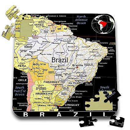 Amazon.com: Florene Mapas de los Países en formato exótico ...