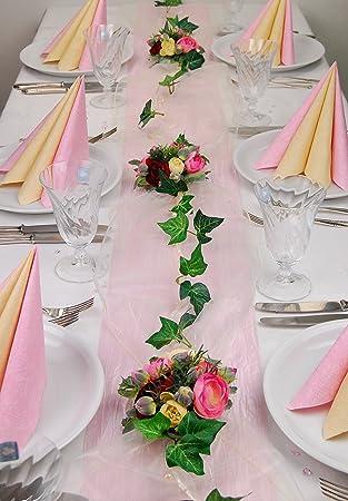 Fibula Style Komplettset Flirt Rose Grosse M Tischdekoration
