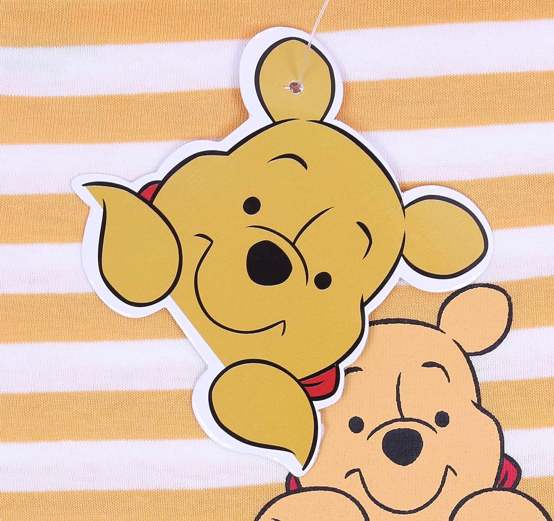 Camiseta de Rayas Blanca y Amarilla Winnie The Pooh Disney