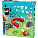 Thames & Kosmos Magnetic Science | 33 STEM Experiments | Ages 8+ | Learn About Earth's Magnetic Poles | Discover How Invisibl